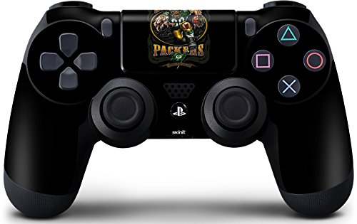 Skinit Decal Gaming Skin for PS4 Controller - Officially Licensed NFL Green Bay Packers Running Back Design