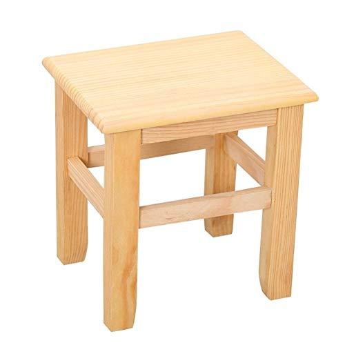 Reposapiés Banqueta de Cocina Taburete de madera para niños, Taburete para pies...