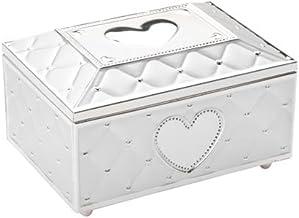 Zilverstad 7419231 Musical Jewellery Box with Ballerina Für Elise 19.3 x 11.7 cm Silver Plated