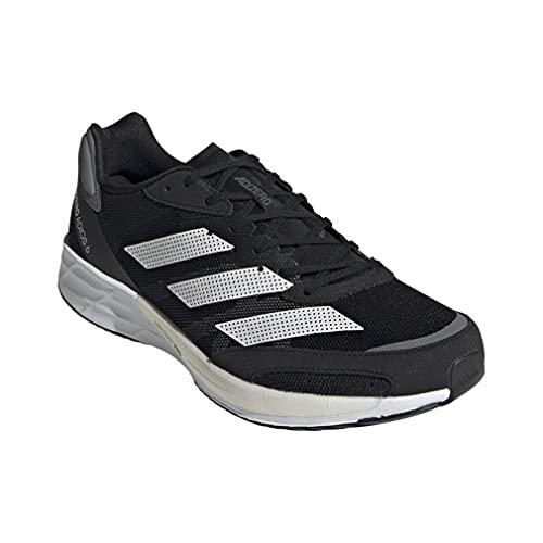 adidas Adizero Adios 6 M, Zapatillas para Correr Hombre, Core Black FTWR White Grey Five, 42 2/3 EU
