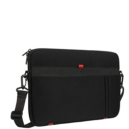 Rivacase 6903801051209 - RIVACASE 5120 Jersey Water-Resistant Memory Foam Bag for 13.3 Inch Netbook. Black