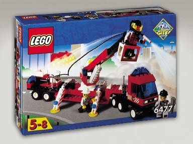Lego Fire Fighters' Lift Truck 6477