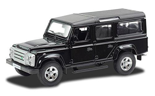 Carro Hot Wheels Luzes E Sons Land Rover Defender 1: 32 Diecast Hot Wheels Preto