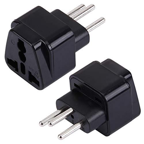 Plugs/Sockets Accesorios de energía, WD-11A Enchufe Universal portátil a Suiza (con conexión a Tierra Tipo J) Adaptador de Enchufe Toma de Corriente Convertidor de Viaje
