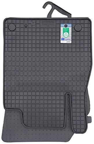 PETEX Gummimatten passend für Micra (K14) ab 03/2017 Fußmatten schwarz 4-teilig