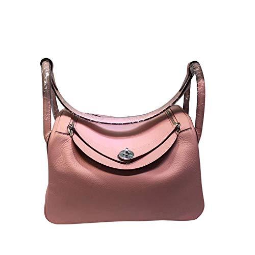EDCR Borsa da donna a tracolla messenger bag-pink_26cm