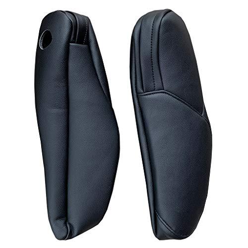 yanni Für Honda CRV 2010–2011 Mikrofaser-Leder, Fahrer-/Beifahrerseite, Armlehnengriff, Dekor-Abdeckung, Schutzleiste