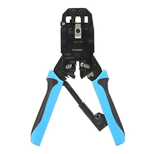 Herramienta de mano para crimpador de cables -TU-200AR de red Ethernet de cable de crimpador de alambre para 8P8C RJ-45
