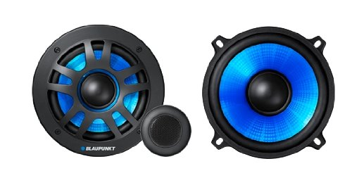 Blaupunkt - GT Power 65.2c - 6.5 Inch 2 Way Component Speakers (260 W)[Pair Of Speakers]