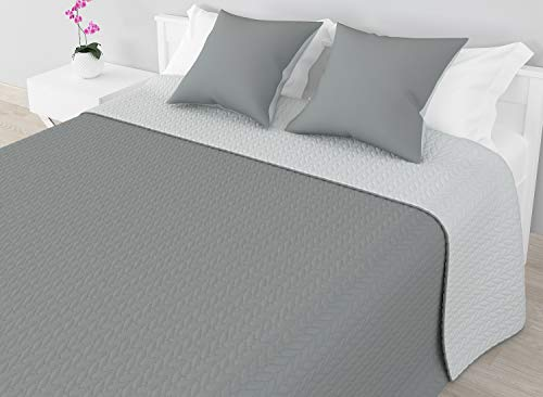 HOME SECRET BOUTI Basic Tagesdecke Bicolor...