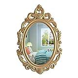 Espejo De Pared Decorativo, Espejo De Maquillaje Colgante De La Vendimia para El...