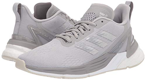 adidas Women's Response Super Running Shoe, Grey/Silver Metallic/Grey, 7.5