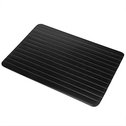 Yeelur 11,61 x 7,99 x 0,08 Zoll Auftautablett, Abtauplatte, schnell auftauendes Aluminium-Auftautablett zum Auftauen von Tiefkühlkost