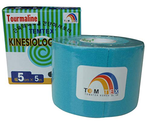 Sporttape TEMTEX Kinesio Tape Tourmaline 5 cm × 5 m