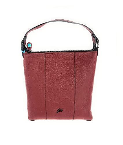 GABS Sofia TG L - Ruga Black Shouder Bag Vino G000500T3X0421C3516