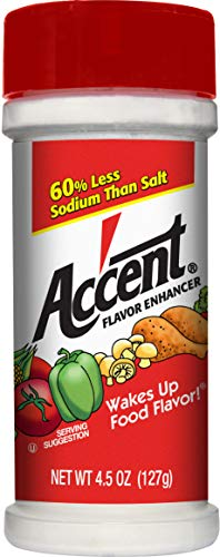 Ac'cent All Natural Flavor Enhancer, 4.5 Ounce