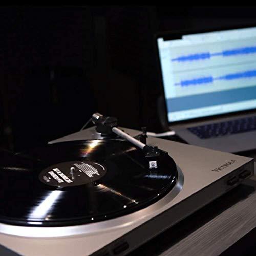 Victrola Pro Tocadiscos semiautomático con grabación de vinilo a MP3 por USB