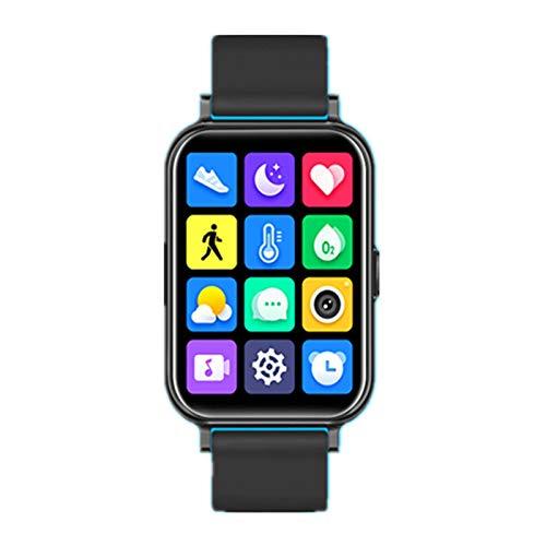N\C Fashion Sports 1.65 Inch Color Screen GPS Pedometer Information Reminder Heart Rate Blood Pressure Sleep Monitoring Smart IP68 Waterproof Bracelet