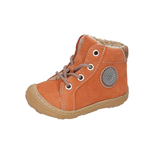 RICOSTA Unisex - Kinder Winterstiefel Georgie von Pepino, Weite: Mittel (WMS),terracare, Outdoor-Kinderschuhe Winter-Boots,rost,22 EU / 5.5 Child UK