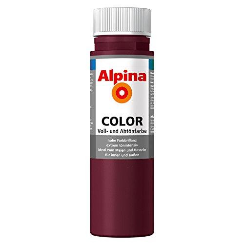 ROLLER Alpina Voll- und Abtönfarbe COLOR - beere - 250 ml
