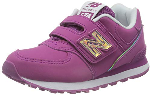 New Balance 574 YV574MTP Medium, Zapatillas, Pink (Fusion MTP), 33.5 EU