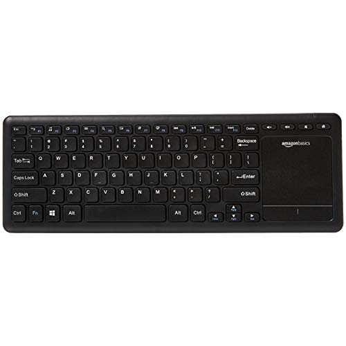 AmazonBasics Wireless Keyboard with Touchpad for Smart TV