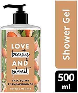 Love Beauty and Planet Majestic Moisture Shea Butter & Sandalwood Shower Gel 500ml