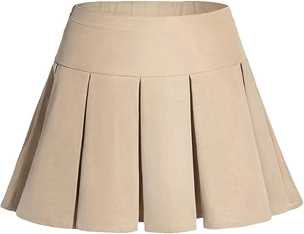 GAZIAR Girls Pleated Ranking TOP1 Skirt Adjustable Scooter Skor Uniform Waist Gorgeous