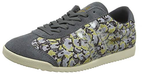 Gola Damen Bullet Liberty CV Sneaker, Grau (Grey/Multi GZ), 39 EU