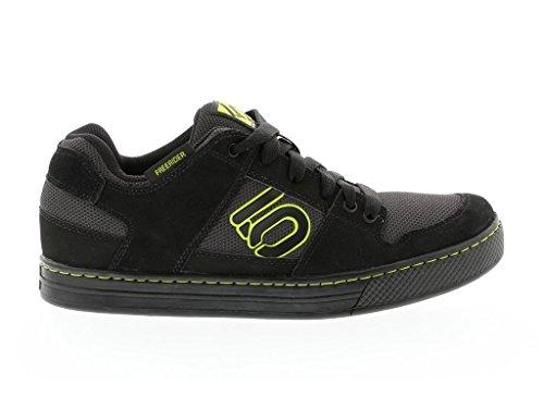 Five Ten Freerider Men's Mountain Bike Shoe, Size 11.5, Night Grey/Black/SEMI Solar Yellow