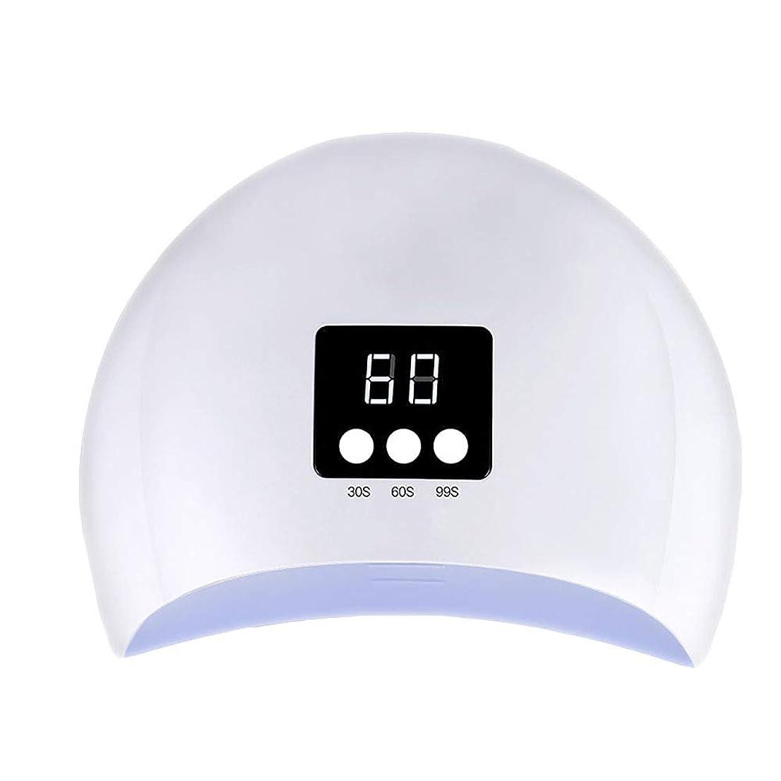 検索エンジンマーケティングフォーカス相手釘のドライヤー - 自動赤外線センサー、二重光源のLEDランプのゲルのドライヤーのマニキュアが付いている紫外線携帯用LEDの釘ランプ