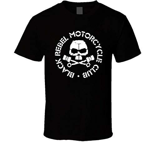 Black Rebel Motorcycle Club Band Shirt Black White Tshirt Men's Black M
