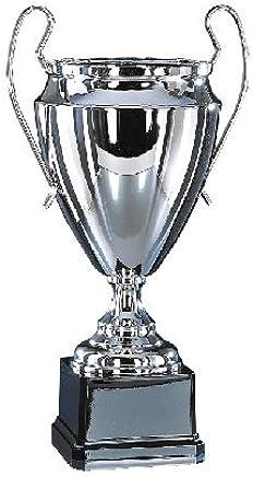 S.B.J Sportland Pokal in Silber mit goldenen Verzierungen