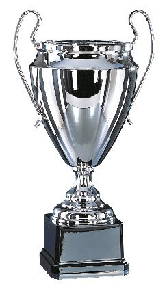 S.B.J - Sportland Pokal aus Vollmetall, 48 cm