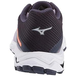 Mizuno Women's Wave Inspire 15 Running Shoe, Lavender Frost-Silver 8.5 B US
