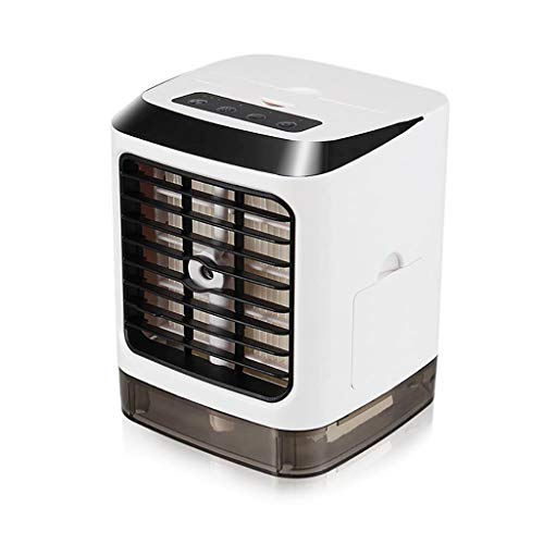 ZCX Car Multi-Function Mini air Cooler Home Small air Conditioning Fan Refrigeration Dormitory Portable Small Fan Portable air Conditioner (Color : Remote Control)