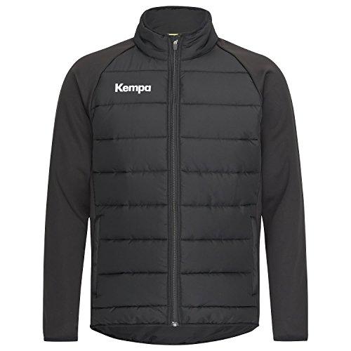 Kempa Herren CORE 2.0 Puffer Jacke, Schwarz, L