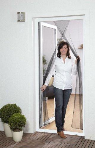 Culex 100450101-CU Fliegengitter für Türen 2x60x210cm weiß