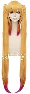 Kadiya Cosplay Wigs Maid Costume Wig Golden mixed Rose Ponytail Role play Hairs