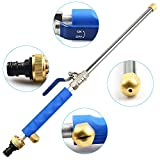 Deep Jet Power Washer Wand Extendable Garden Sprayer Attachment with Water Hose Nozzle