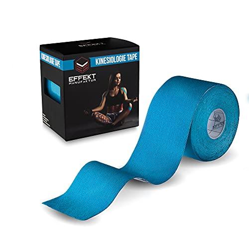 Effekt Manufaktur [5m x 5cm] Kinesiotape Vendaje Neuromuscular I Cinta Kinesiologica impermeable y elastica I Sport Kinesiology Tape
