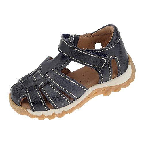 Bisgaard Kinderschuhe Sandale Kindersandale Blau Baby Unisex Klettverschluss 7020511420 (20 EU)