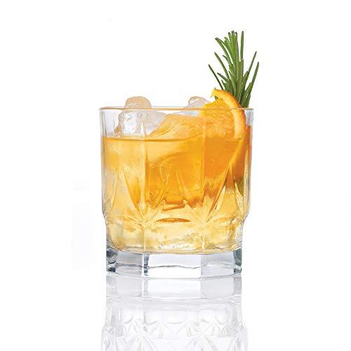 RCR - Bicchieri in Cristallo Chic Luxion da Vino, da Whisky e da Champagne, in Vetro, 350 ml