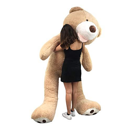 Banabear Lerosier Teddy trägt Riesenplüsch von 130 bis 340 cm !! Teddybär Teddybär Riesiger Bär (Hellbraun, 260 cm)