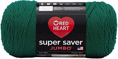 RED HEART Super Saver Jumbo Yarn, Paddy Green