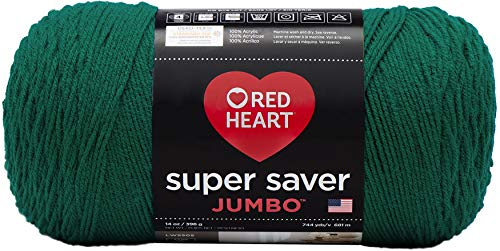 RED HEART Super Saver Jumbo Yarn – Paddy Green
