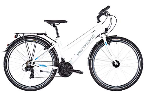 Vermont Chester Trapez White Glossy 2020 Jugendfahrrad