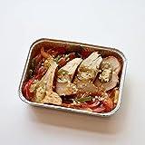 [A TABLE! アターブル] 信玄鶏とハラペーニョのアヒージョ ファヒータ風