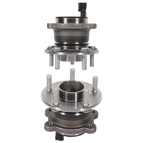 512499 Rear Wheel Bearing and Hub Assembly compatible with 2013-2016 for Ford C-Max, 2013-2017 for Ford Escape, 2015-2017 for Lincoln MKC 5 Lugs w/ABS