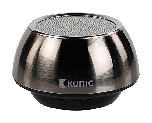 KNG KNG-BTSPHF100 Trinity Bombastic Billowe Lautsprecher (3,5mm Klinkenstecker, Bluetooth)